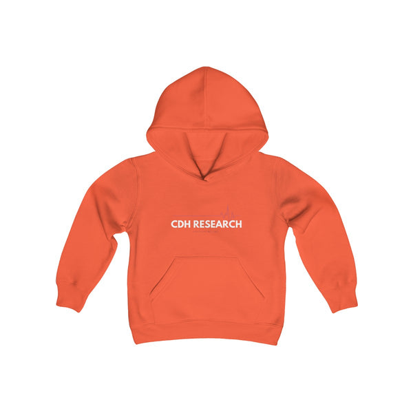"""CDH Research"" Awareness Youth Heavy Blend Hooded Sweatshirt"