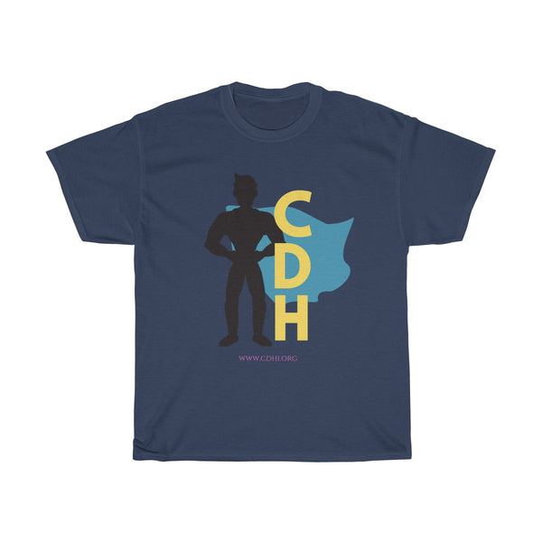 """CDH Superhero Dad"" Unisex Heavy Cotton Tee - CDH International"