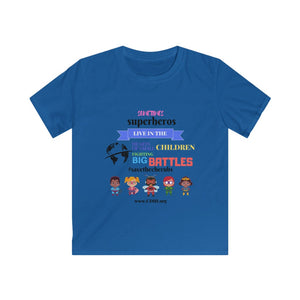 Kids CDH Superheros Shirt