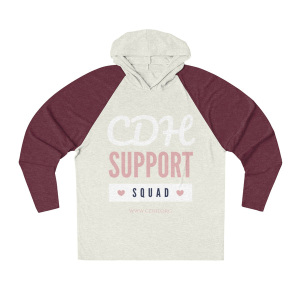 """CDH Support Squad"" Unisex Tri-Blend Hoodie - CDH International"