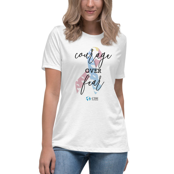 Courage over Fear Women's T-Shirt