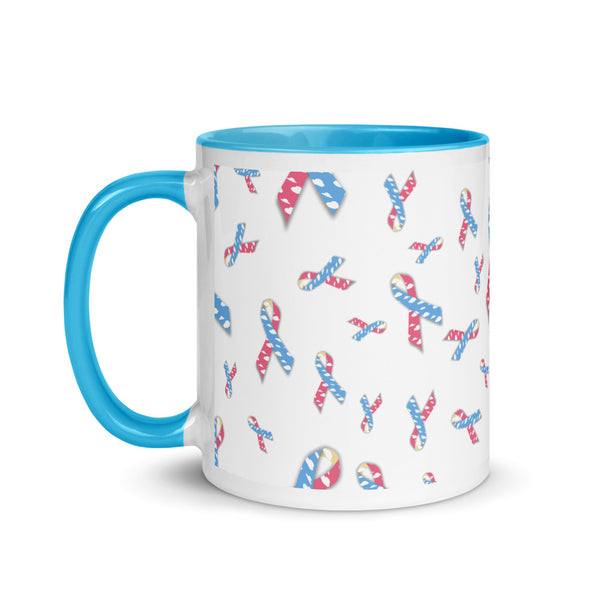 CDH Ribbon Mug with Color Inside