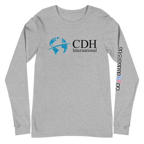 CDHi- Warrior arm Unisex Long Sleeve Tee