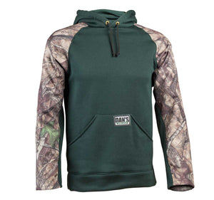 dan's briar hoodie - green/camo - Coon Hunter Supply