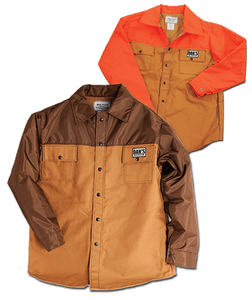 Dan's Duck Shirt Brown or Orange - Coon Hunter Supply