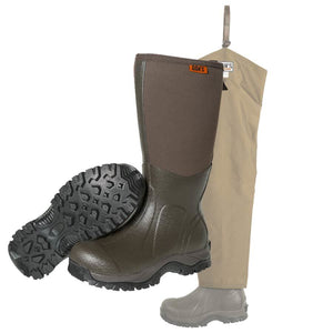 Dan's Frogger Boot with Five Star Briarproof Froglegs - Coon Hunter Supply