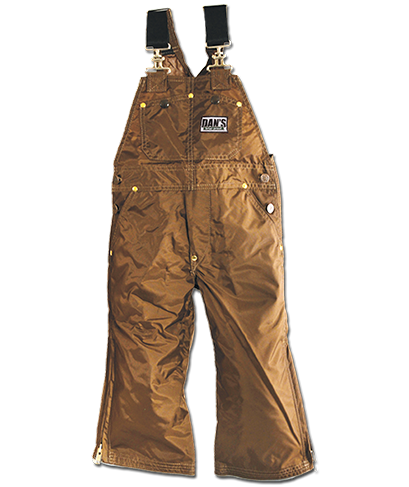 Dan's Kid's Waterproof and Briarproof Bibs - Coon Hunter Supply