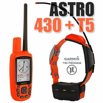 Garmin Astro 430 w/T-5 Collar Bundle - Coon Hunter Supply