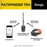 Dogtra Pathfinder TRX range fro GPS connector to dmart phone and collar - Coon Hunter Supply