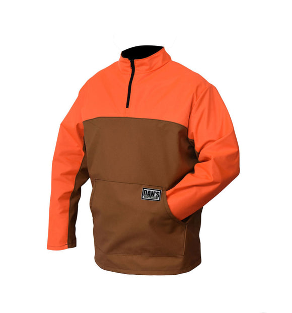 dan's briar quarter zip pullover - coon hunter supply