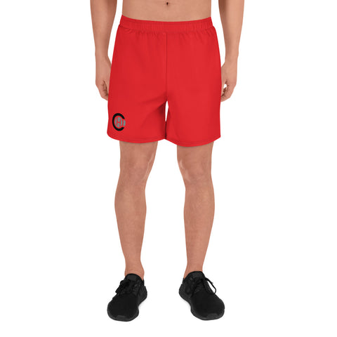 Red HO Athletic Long Shorts