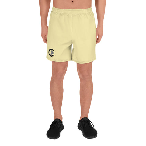 Yellow HO Athletic Long Shorts