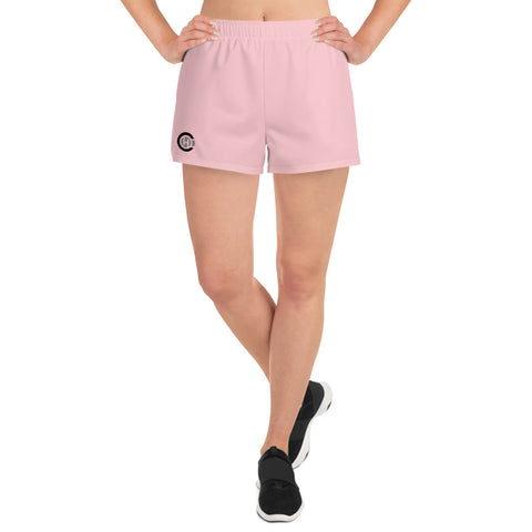 Pink HO Women's Athletic Short Shorts