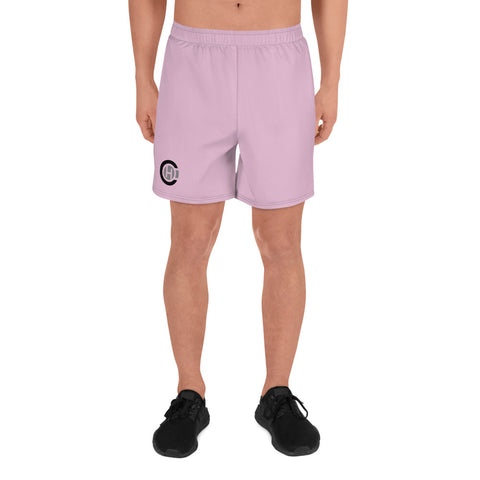 Pink HO Athletic Long Shorts
