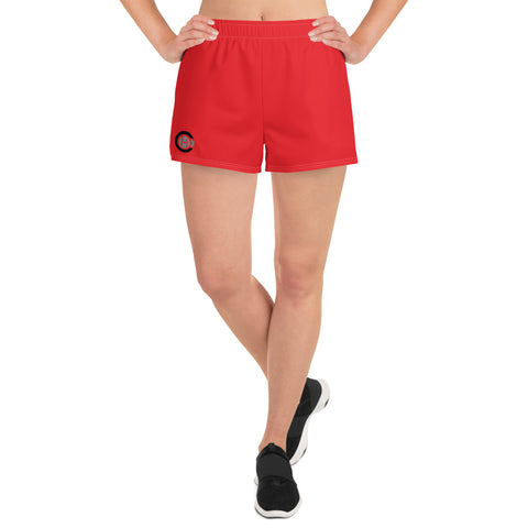 Red HO Women's Athletic Short Shorts