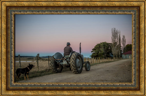 The old tractor at Bald Blair