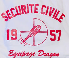 SWEAT-SHIRT ÉQUIPAGE DRAGON SÉCURITÉ CIVILE