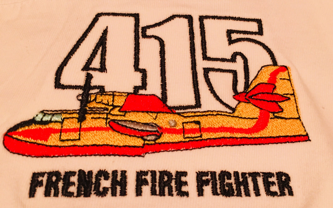 TEE SHIRT CL415 FRENCH FIREFIGHTER