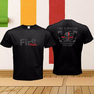 TEE SHIRT FIRE DEPARTMENT