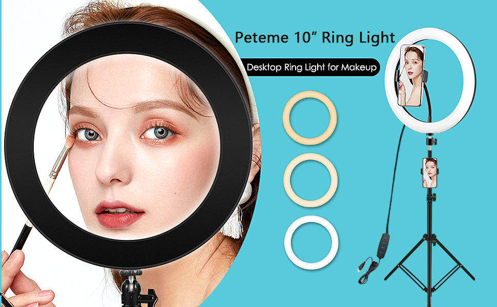 10_Selfie_Ring_Light_With_Extendable_Tripod_Stand