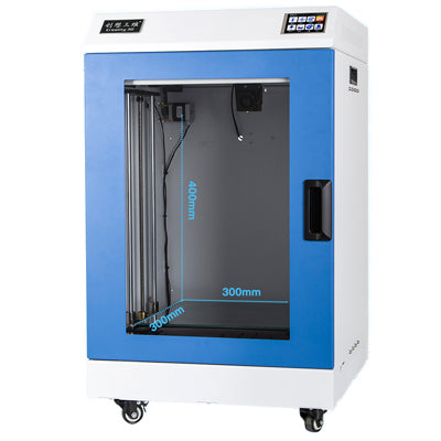 Flashforge Creator 3 Dual Extruder 3D Printer Easy to Remove Nozzle