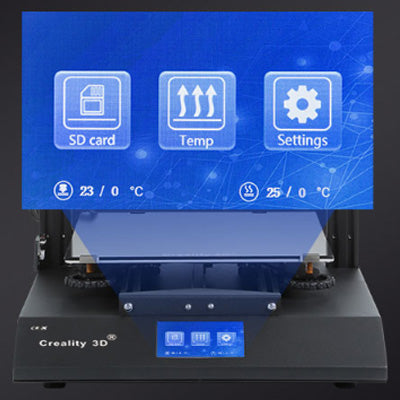 Creality 3D CR-X 3D Printer | Colorful 4.3 In Touch Screen