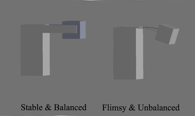 cantilever structure balance check-3d printing-service in Toronto, GTA, Canada