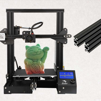 Creality 3D Ender-3 3D Printer | Black Patented V Profile Design