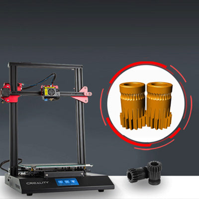 Creality 3D CR-10S Pro 3D Printer | Double Gear Extrusion Mechanism