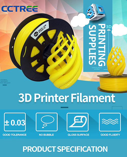 CCTREE 1KG Mable PLA Filament