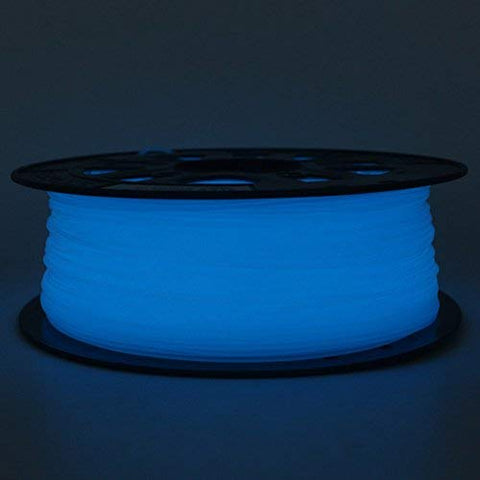 3D Printing Filaments PLA Mech Solutions Glow in the Dark Blue |Mech E-store