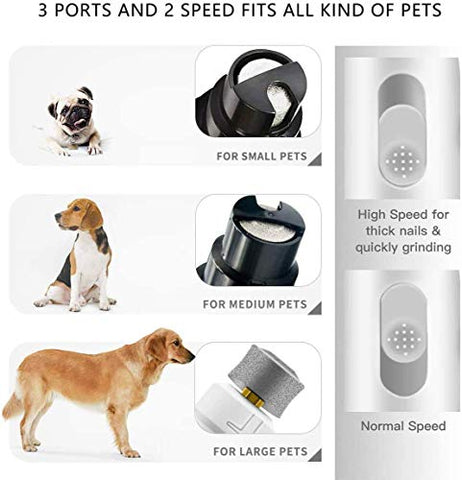 Pet Pet Dog Peteme Dog Nail Grinder |Mech E-store