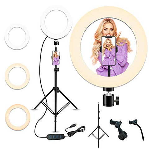 Smart Life Entertainment Home Peteme Selfie Ring Light with Tripod Stand |Mech E-store