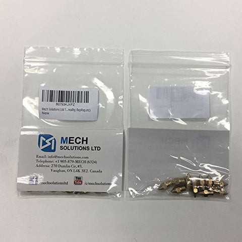 3D Printing Accessories Nozzle Mech Solutions MK8 Stainless Steel 3mm 0.4mm 10 Pcs |Mech E-store