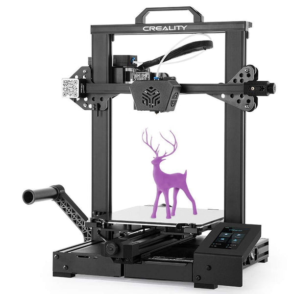 🍁Canadian Seller Mech Solutions Ltd🍁 Creality Official CR-6 SE+ ✅1KG PLA filament (📞Contact us for this offer) New Version 3D Printer Leveling- Free with Silent Motherboard Touch Screen and Double Z-Axis Meanwell Power Supply Print Size 235 x 235 x 250 mm