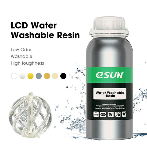 3D Printer Resin UV Curing Resin Water Washable | 500g Black