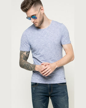Tricou Jack and Jones albastru deschis
