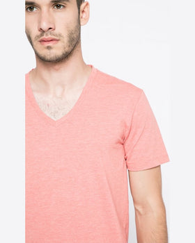 Tricou Selected coral