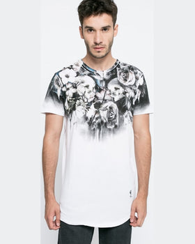 Tricou Religion wild night alb