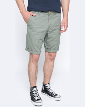 Pantaloni Tom Tailor scurti verde