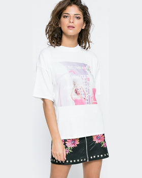 Top Missguided printed be there in