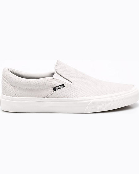 Tenisi Vans classic slipon gri deschis