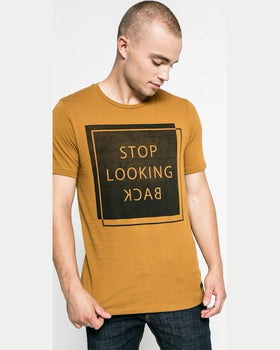 Tricou Jack and Jones muștar