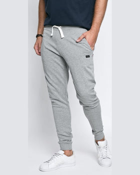 Pantaloni Jack and Jones gri deschis