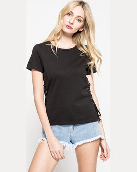 Top Tally Weijl negru