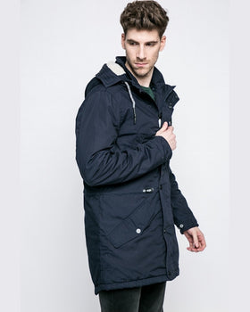 Parka Tom Tailor hanorac bleumarin