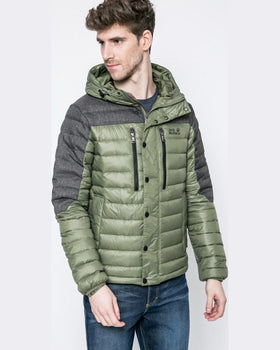 Geaca Jack Wolfskin de puf richmond jacket men verde închis