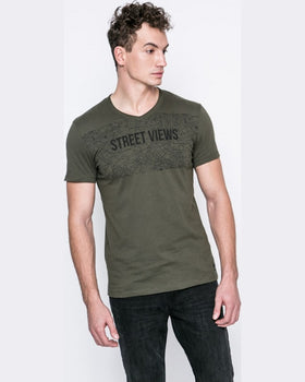 Tricou Tom Tailor verde
