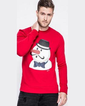 Bluza Jack and Jones xmas roșu