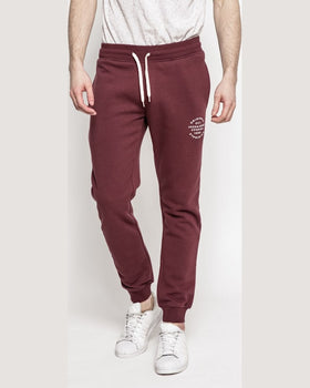 Pantaloni Jack and Jones violet închis